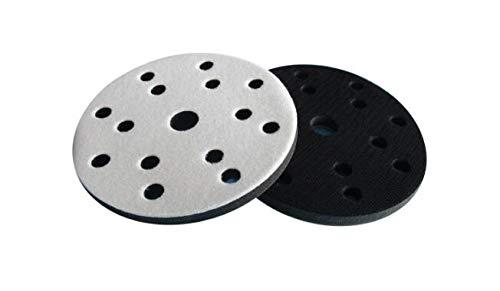 6 zoll 150mm 15 Löcher Weiche Dichte Schwamm Interface Pad Dämpfung Pad für Sander Stützteller Schleifwerkzeuge Zubehör - Haken und Schleifen 1 STÜCKE (Schleifen Interface-pad)