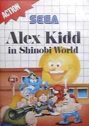 Alex Kidd in shinobi world b - Master System - PAL