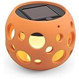 Konstsmide Genova 7801-900  Solarleuchte LED / B: 12cm T: 12cm H: 10cm / Keramik / terracotta