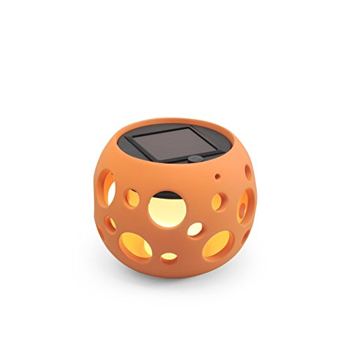 Konstsmide Lampe solaire cylindrique à LED Terracotta Teracotta - Low Solar Light