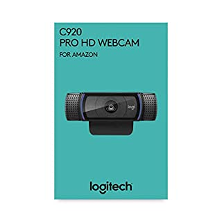 Logitech C920 HD Pro para AMZ - Cámara Web, videoconferencias y grabaciones de vídeo Full HD 1080p con dos micrófonos estéreo, Negro (B07QZZS7S1) | Amazon price tracker / tracking, Amazon price history charts, Amazon price watches, Amazon price drop alerts