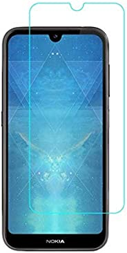 Nokia 4.2 Screen Protector Glass Full Glue Screen Guard Anti Explosion 2.5D for Nokia 4.2 by Nice.Store.UAE