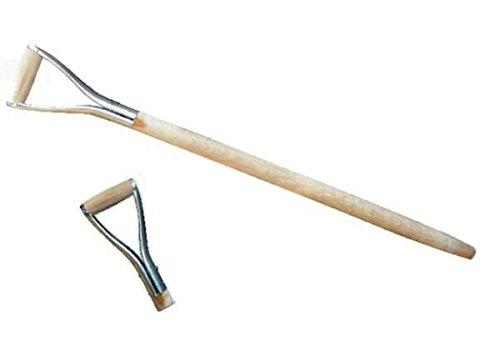 3 x Manche Fourche Fourche bêche Pelle Manche Manche en bois d poignée Metal Ø 38 mm 95 cm