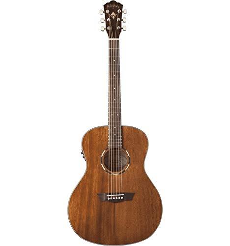 washburn 6string chitarra elettroacustica, naturale (wlo12se-o)
