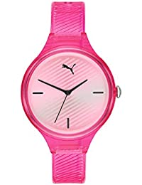 Puma Analog Silver Dial Women's Watch-P1024