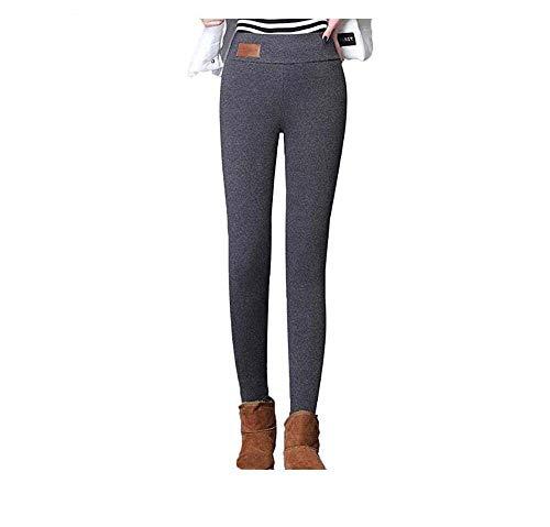 Xsh Pantalones polainas elásticos térmicos forrados