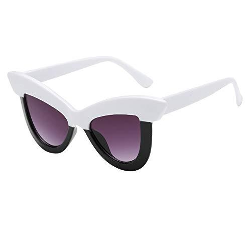 Oyedens Diamant Sonnenbrillen Brille - Frauen Männer Vintage Retro Brille Unisex Rhombus Frame Sonnenbrillen Eyewear