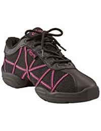 Baskets Capezio DS19 Web - Noir/Rose Taille 39 9R3F6