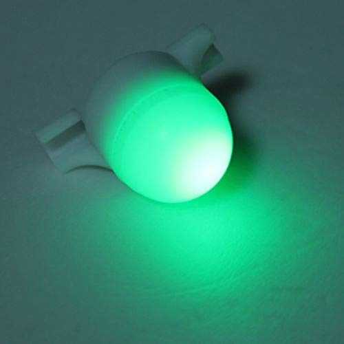 WEIWEITOE-DE Tragbare 2 in 1 LED Nacht Angelrute TIPP Clip auf Fisch Streik Bissanzeiger Licht Angeln LED Rod Clip Angelzubehör, weiß, - Fische 2 Licht