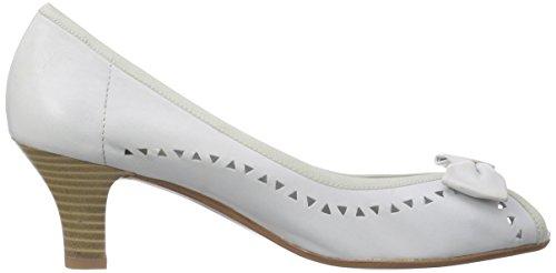 GERRY WEBER Shoes Kitty 01 Damen Peep-Toe Pumps Weiß (offwhite 002)
