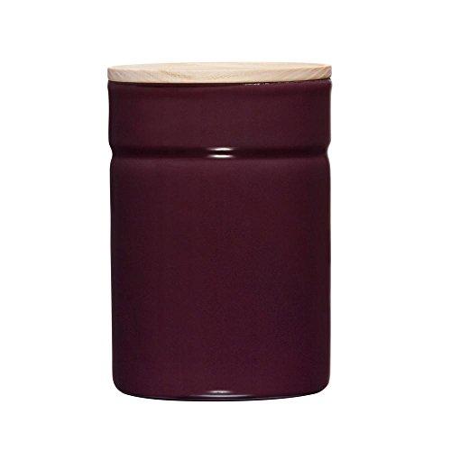 Riess – Boîte de conservation Klima – Boîte hermétique – Boîte de rangement – Avec couvercle Diamètre 8 cm – Hauteur 12 cm – 525 ml – Aubergine