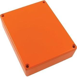 Hammond Replacement 1590BB Die-cast Aluminum Box, Orange by AmplifiedParts
