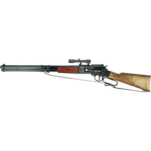 df976e6c3897 Fusil Utah 12 coups 756 mm noir-marron carabine Texas arme cowboy arme à  chargement