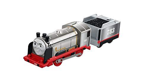TRENINO THOMAS- Track Master-Locomotiva Merlin Sperimentale-Treno Elettrico Giocattolo, FJK58