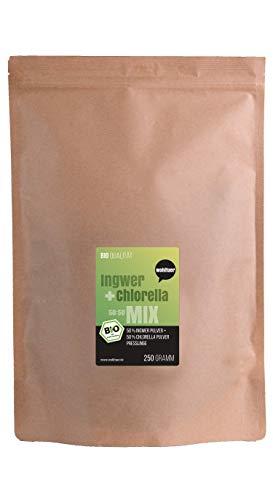 Wohltuer Bio Ingwer + Chlorella Bio Algen Superfood Mix Tabletten in Rohkostqualität 250g