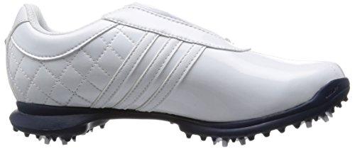 super popular 208f8 7dffa ... Adidas Dri Boa - Chaussures De Golf Pour Femme Blanc  Bleu