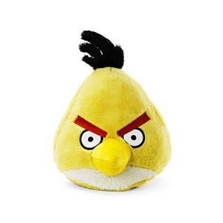 "Angry Birds - Chuck Yellow Bird Plush - 16cm 6"""