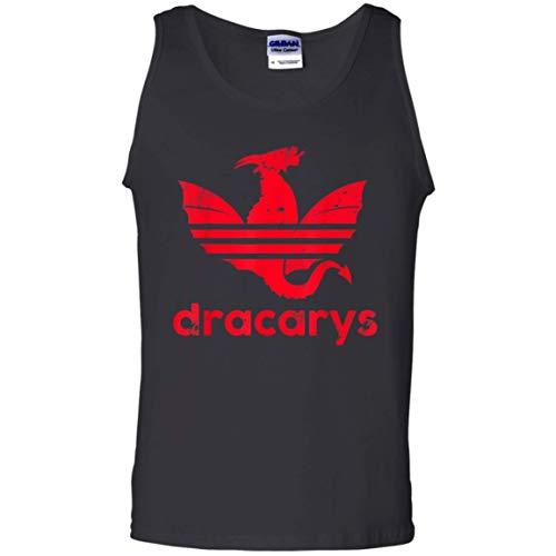 Dracarys T Shirt Geschenk für Männer Frauen Tank Top für Männer Frauen Idee für Fan Love Game of Thrones, S -