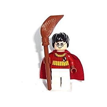 LEGO Harry Potter: Harry Potter (Quidditch Tenue) Mini-Figurine Avec Manche à Balai