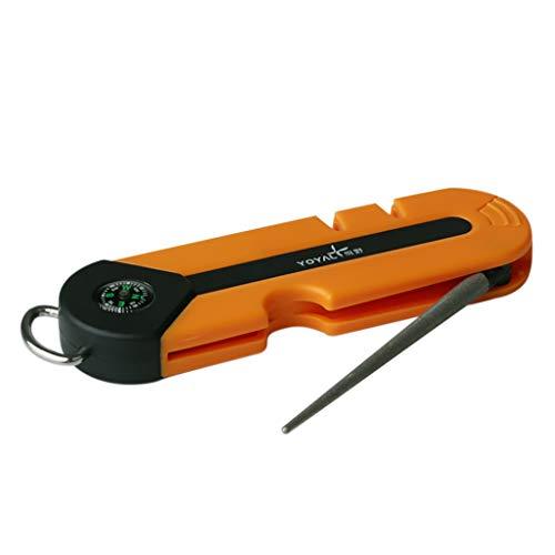 Afilador de cuchillos al aire libre,CHshe❤❤,Afilador de cuchillos de supervivencia, profesional y...