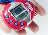 Miig-du Kinder Spielzeug Videospiele E-Haustier Spielzeug Handheld Schlüsselanhänger Maschine Spiel Elektronische Haustier Maschine * 1 rot