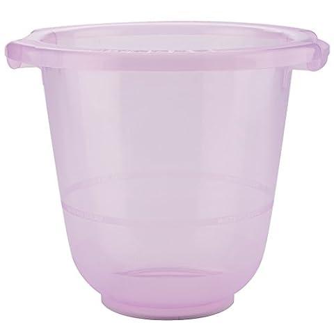 tummy tub Baby-Badeeimer – das Original, BPA-frei, kippsicher und rutschfest, rosa