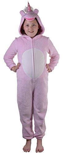 Loungeable Kinder Fleece Weihnachten Overall oder Robe - Einhorn, Tween Größe - Alter 13-14 Years