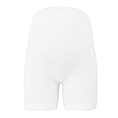 Sasairy Damen Umstands Unterhose mit Spitze Maternity Boxershorts Panty für Schwangere
