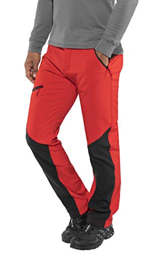Columbia Wanderhose für Herren, Triple Canyon Fall Hiking Walking Trousers, Rot (Red Spark), Gr. W30/L32, EM0054