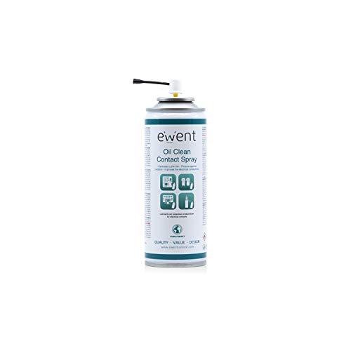 Ewent EW5615 - Pulverizador a Base de Aceite para la Limpieza de contactos Spray 200ml, Color Amarillo