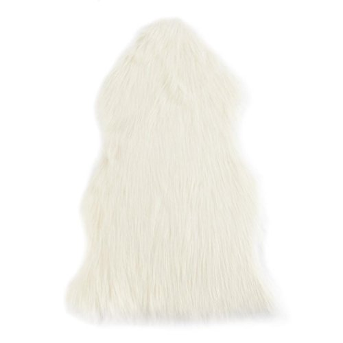 EARS 40 * 60 cm Weiche und Bequeme Teppich Stuhl Abdeckung Künstliche Fortgeschrittene Fasern Warm Hairy Teppich Sitzauflage Nagelneu (A)
