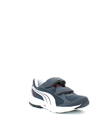 Puma Descendant V Kids Chaussures de course Multicolore - Navy/White/Red