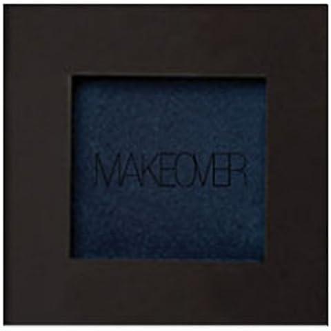 CAMBIO DE IMAGEN Sombra de ojos individual, sombra de ojos, de color azul oscuro iridiscente