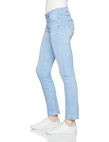 Pepe Jeans London Saturn, Jeans Femme Bleu (Denim)