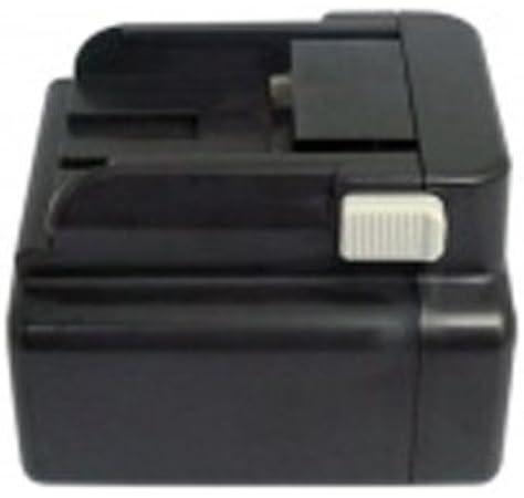 24.0V AboutBatteries Batterie pour HITACHI DH 24DV Ni-MH 3000mAh