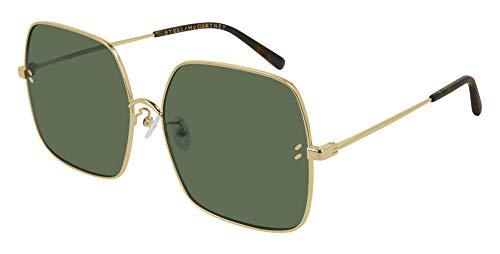 Stella McCartney Sonnenbrillen (SC-0158-S 001) gold - brau-grün