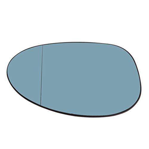 Miroir de rétroviseur droit côté conducteur bleu pour BMW Série 3 E90