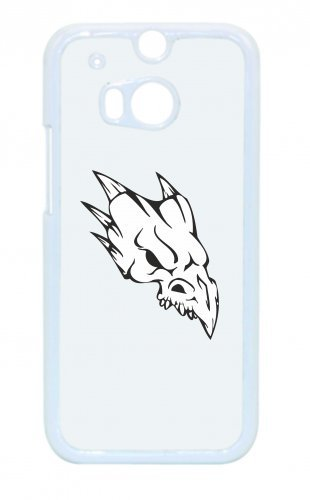 Smartphone Case teschio Tierisch con aculei su dietro la testa scheletro rocker Frecce Club Gothic Biker Skull Emo Old School per Apple Iphone 4/4S, 5/5S, 5C, 6/6S, 7& Samsung Galaxy