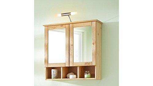 baumarkt direkt Spiegelschrank Landhaus Sylt, Breite 60 cm geölt - 4