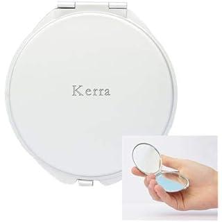 Pocket mirror with engraved name: Kerra (first name/surname/nickname)
