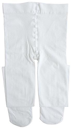 Dancina Mädchen Strumpfhose Ultra-Stretch Mikrofaser 120 DEN M (122 - 140) Weiß
