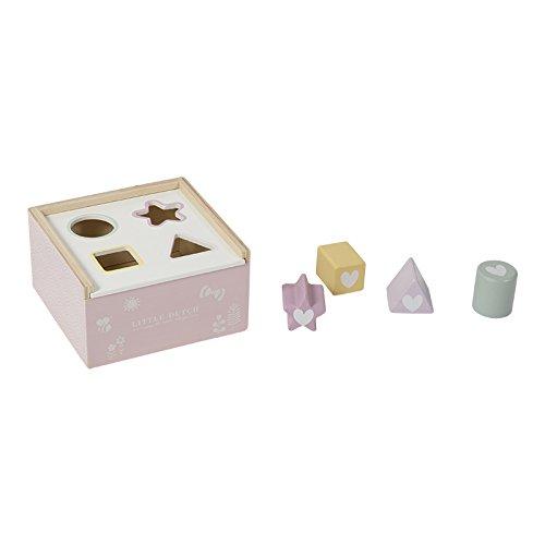 LITTLE DUTCH 4420 Formen Steck Spiel aus Holz adventure pink Pink Form