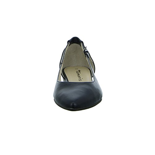 Tamaris 1-1-22125-38/015 Damen Ballerina BLACK MATT