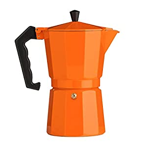 Premier Housewares 9 Cup Espresso Maker - Orange