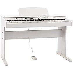 DP-6 Piano Numerique par Gear4music Blanc