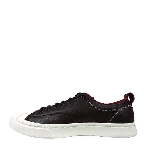 Converse Men Jack Purcell Series Ox Sneaker Black Red