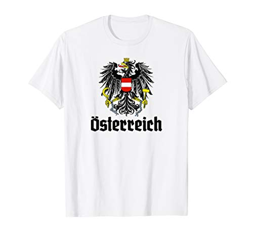 Österreich T-Shirt Rot Weiß Rot National Shirt