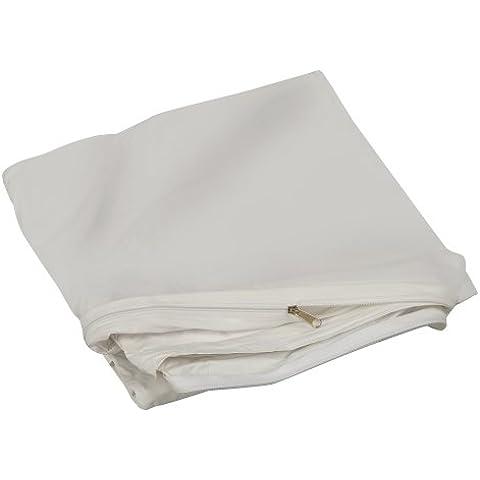 DMI 554-8069-1950 - Protector de colchón de plástico con cremallera, individual, 99,06 x 190,5 x 20,32