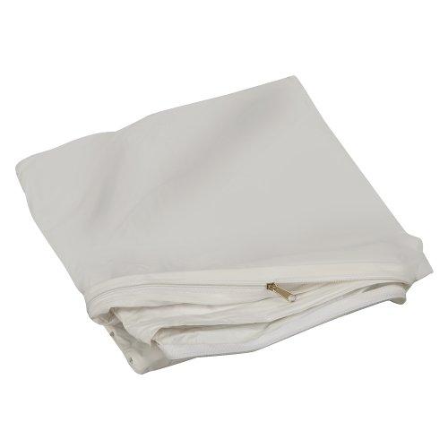 DMI Duro-Med Matratzenbezug, mit Reißverschluss, aus Kunststoff/Nylon, Einheitsgröße, Weiß (Kunststoff-matratze-cover Wasserdichte)