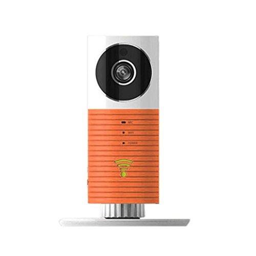 Sansee WIFI Nachtsicht Audio Video Wireless Kamera Baby Care Monitor Sicherheit Teleskop (Orange) (Teleskop-sicherheits-kamera)